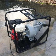 市政排污6寸本田动力WP60汽油污水泵