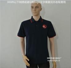 夏装短袖衬衫工作服定制纯棉t恤翻领工衣定
