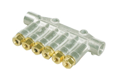 象山縣集中潤滑系統VSL-KR型雙線分配器
