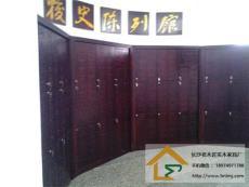 长沙实木书柜定制工厂原生态家具 长沙实木