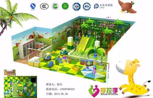 儿童室内游乐场规划