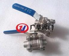 三块式对焊球阀 不锈钢对焊式手动球阀厂家