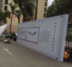 深圳桁架背景板搭建案例图 桁架出租厂家
