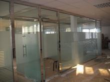 天津商場玻璃隔斷制作