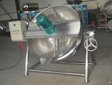 电加热可倾式夹层锅 300L夹层锅生产厂家