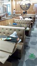 餐飲沙發 卡座沙發 咖啡廳西餐廳茶餐廳卡座
