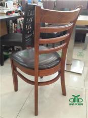 水曲柳餐椅 餐廳桌椅 深圳餐飲桌椅工程定制