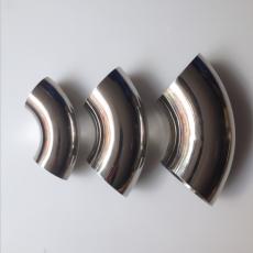 不锈钢304卫生级90度弯头焊接食品级镜面